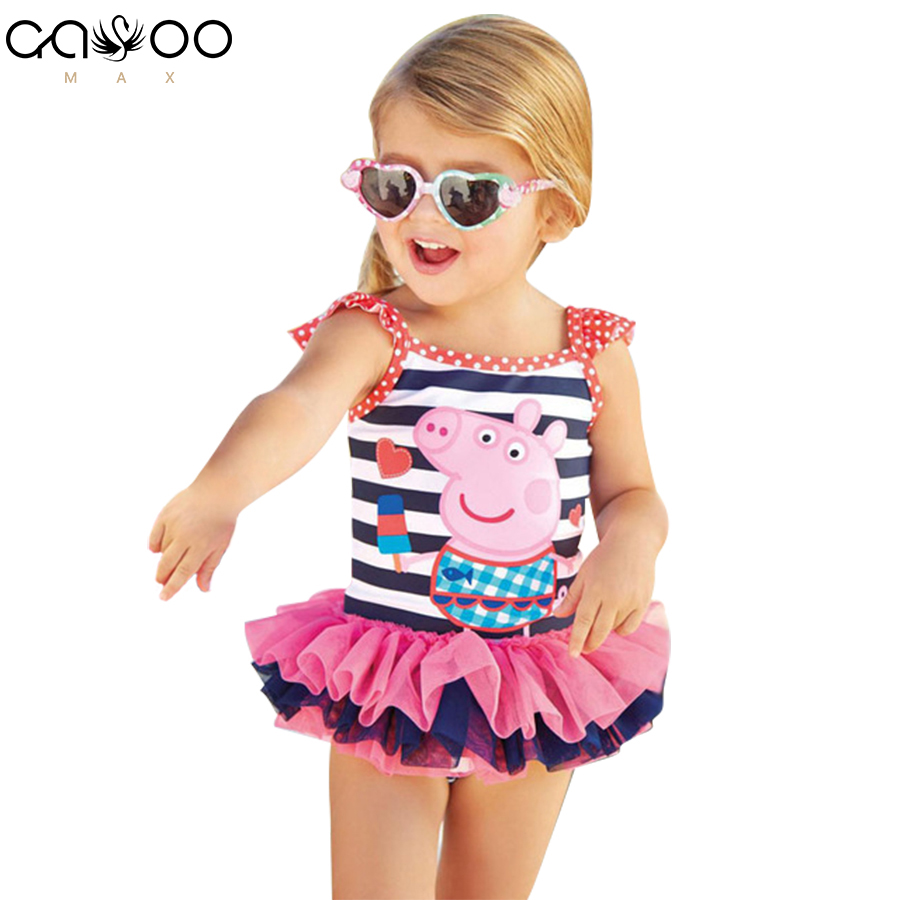 2018 New Cute baby girl swimwear one piece Kids girls swimsuit kid swimming Suit Swim Wear Children Girl Bikini Swimsuit 2017 new children swimwear baby kids cute bikini girls split two pieces swimsuit bathing suit girl bikini kids biquini infantil
