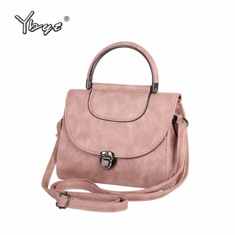 YBYT Brand 2019 Vintage Casual Women Small Handbags Simple Female Fashion Shopping Bag Ladies Messenger Shoulder Crossbody Bags