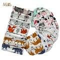 De dibujos animados Bebé Embroma el Sombrero Del Sombrero Del Invierno Niños Bufanda Collar de La Panda Cat imprimir Otoño Sombrero Infantil Chicos Set Baby Girls Caps MAKA