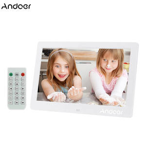 "Andoer 10.1 ""HD Digital Photo Frame Digital Photo Frame w/Remote Control"