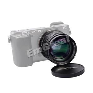 Image 4 - Brightin כוכב 50mm F1.4 ראש עדשת גדול צמצם ידני עדשה עבור Sony e mount עבור Fuji X  הר M4/3 הר ראי מצלמות