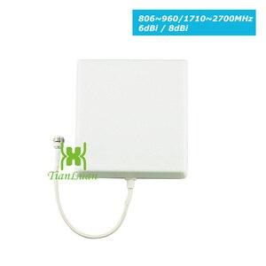 Image 4 - TianLuan Mini W CDMA 2100 mhz Signal Booster 3g Repetidor Do Sinal Do Telefone Móvel com Painel de Antena/Antena Yagi/ 5 15 m m Cabo