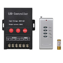 30A DC5V-24V LED Controller 3 Keys 3 Channel 5 V 12 V 24 V 30A 360 W 720 W LED Wtih RF Controller Untuk RGB LED Strip Untuk 5050 3528(China)