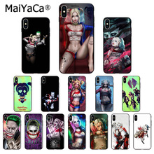 MaiYaCa Harley Quinn Suicide Squad Joker Wink Newly Arrived Phone Case