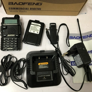 Image 2 - baofeng dm 5r walkie talkie DMR Radio VHF UHF 136 174MHz 400 480MHz TK port 2000mAh battery DMR two wayr adio fro hunting 10 KM