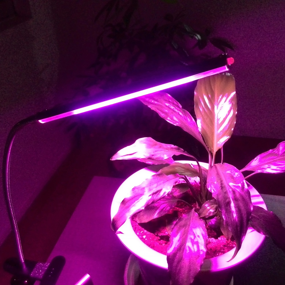 Flexible USB Clip on LED Plant Grow Lamp for Plants Vegs Hydroponic System Grow Bloom an