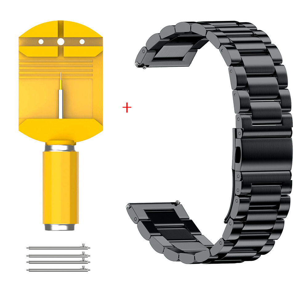 16mm 18mm 20mm 22mm 24mm Breite Edelstahl Band für Samsung Getriebe Sport S2 S3 galaxy 42mm 46mm Armband Metall Armband