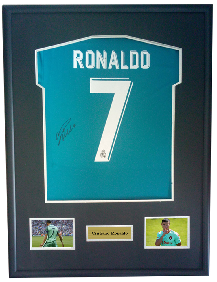 hot sale online b9a9c c7501 Detail Feedback Questions about Cristiano Ronaldo signed ...