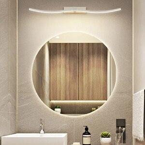 Image 5 - Современные светодиодные зеркальные фары, декоративные настенные светильники для ванной комнаты, новый дизайн, креативные зеркальные лампы для дома