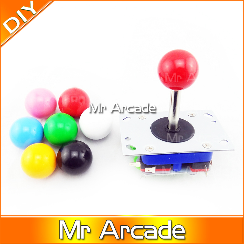 MR Arcade JAMMA MAME DIY parts KIT for 2 players PC PS/3 2 IN 1 interface USB Encoder to joystick and HAPP buttons arcade jamma mame diy parts kit 2 american style joysticks
