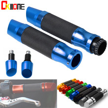 Rubber Grips fit most street bikes and sport with 22mm standard 7/8 motorcycle hollow handlebars Motorcycle accessories