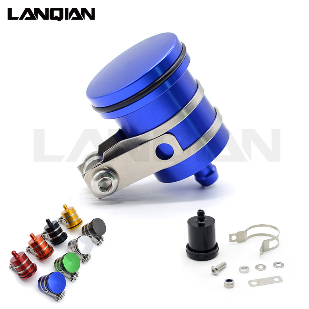 Universal Cnc Motorcycle Brake Fluid Reservoir Clutch Tank Oil Fluid Cup for <font><b>KTM</b></font> FREERIDE 250R/<font><b>350</b></font> Husaberg HUSQVARNA TC85 image