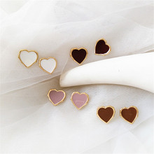 Ms simple geometric jewelry earring fashion decoration earrings Delicate golden metal beautiful Suitable for banquet