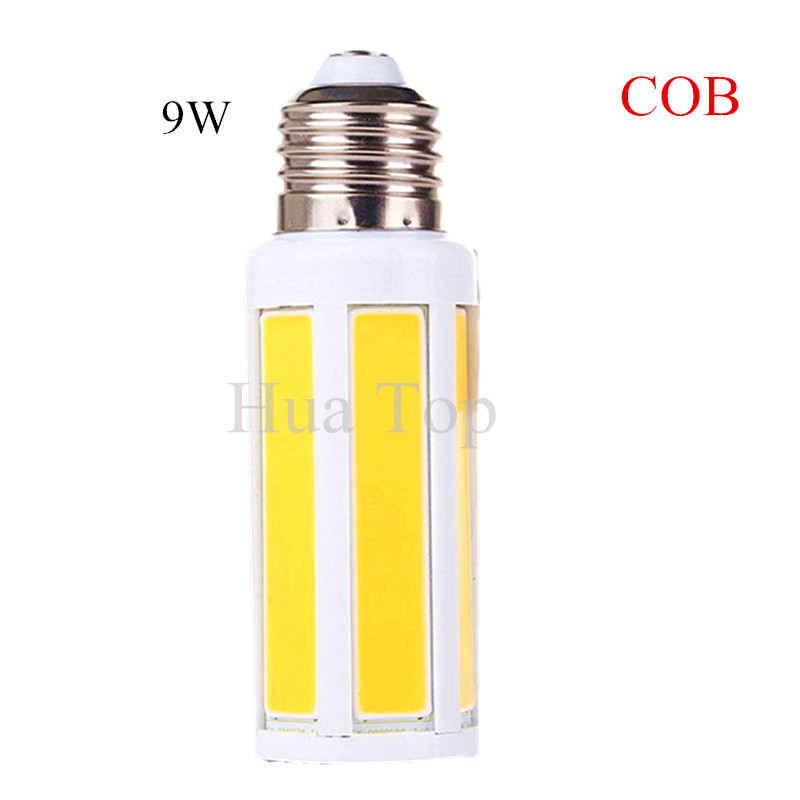 Lampada AC 220V 9W 12W E27 B22 E14 COB LED Bulb lamp Corn light led Spotlight Cold White/Warm white led lighting Free shipping 5w smd 2835 e14 lamp tubes led light warm white cold white e 14 led candle 220v led lamp free shipping
