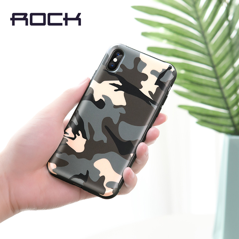 ROCK QI 5000 mAh Ultra mince chargeur de batterie de secours externe étui pour iphone X, batterie externe sans fil étui pour iphone X