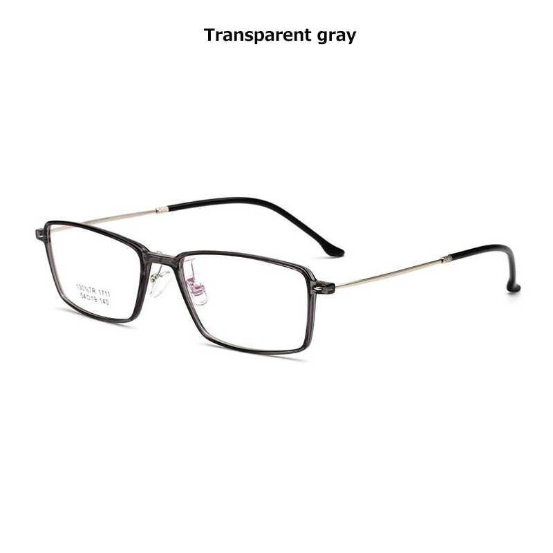 Pria Kacamata TR90 bingkai optik antik merek desainer batal Kacamata bingkai wanita miopia hitam Trendy kacamata persegi bingkai