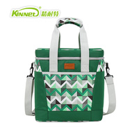 KINNET Cooler Bag Beer Ice Pack Lunch Picnic Bag 20L Insulated Thermal Oxfod Material Cooler Bag