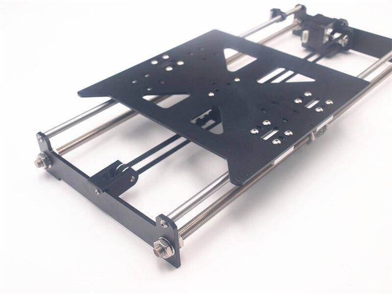 Funssor Kit de mise à niveau de lit en aluminium pour Reprap Prusa i3 MK2 Kit d'extension de lit d'impression d'imprimante 3D