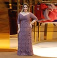Charming Light Purple Plus Size Mother of the Bride Dresses with Half Sleeve Lace Mother Gown for Wedding Ceremony