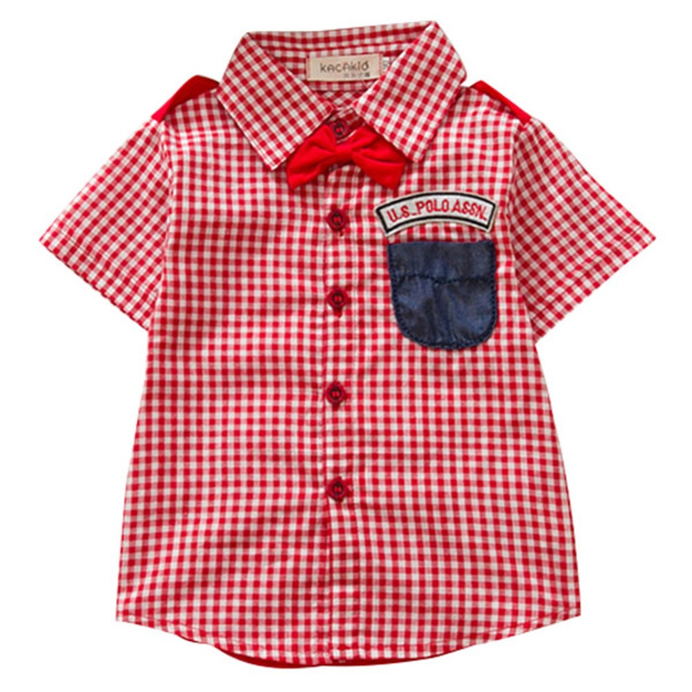 Popular Boys Checked Shirt-Buy Cheap Boys Checked Shirt lots from ...