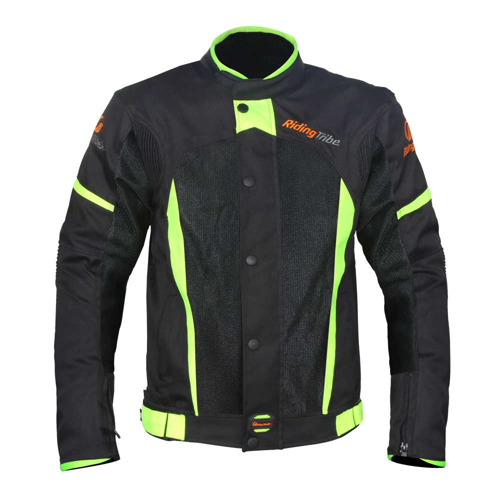 Fashion High Quality Reflective Motorcycle Jackets with Shoulder Elbow Back Protect Pads Breathable Summer Windproof Warm Winter