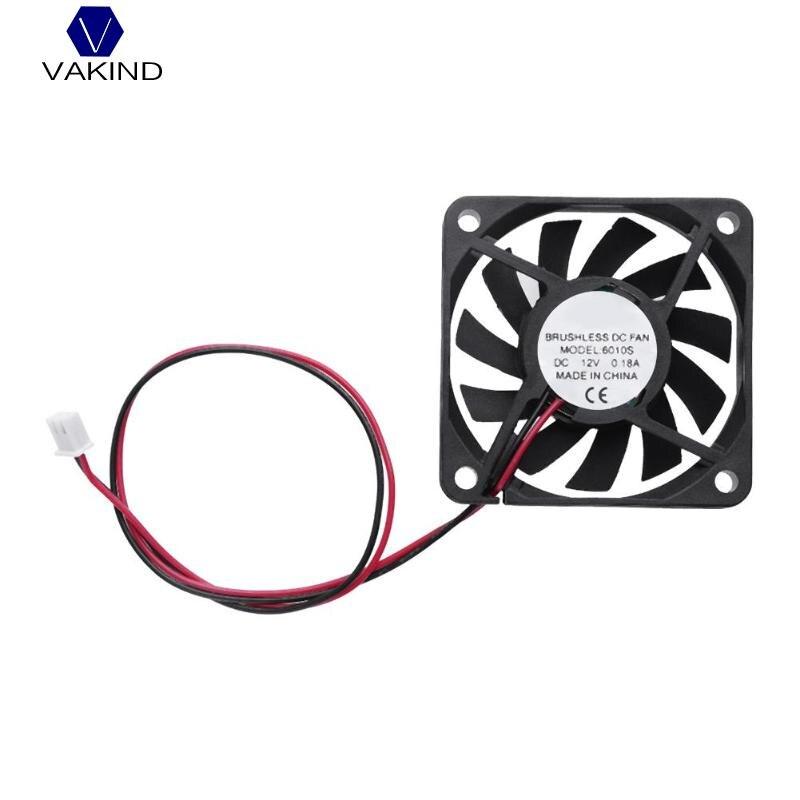 VAKIND 11 лезвия Водонепроницаемый 58 х 58 х 10 мм DC 12 В 0.18A Вентилятор Cooler 2Pin низкая Шум бесщеточный PC охлаждения радиатора вентиляторы