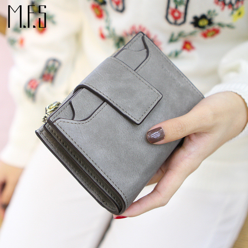 2017 New Arrival Fashion Women Wallet Retro Female Purse PU Zipper Wallets Short Design Clutch Femininas Brand Card Holder Gift 2016 new women wallets famous brand design pu leather wallet female zipper