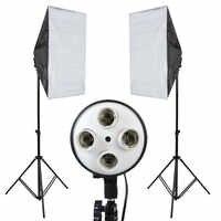 Фотостудия набор софтбоксов свет фотографический набор Фотостудия софтбокс комплект камера и аксессуары для фото CD50