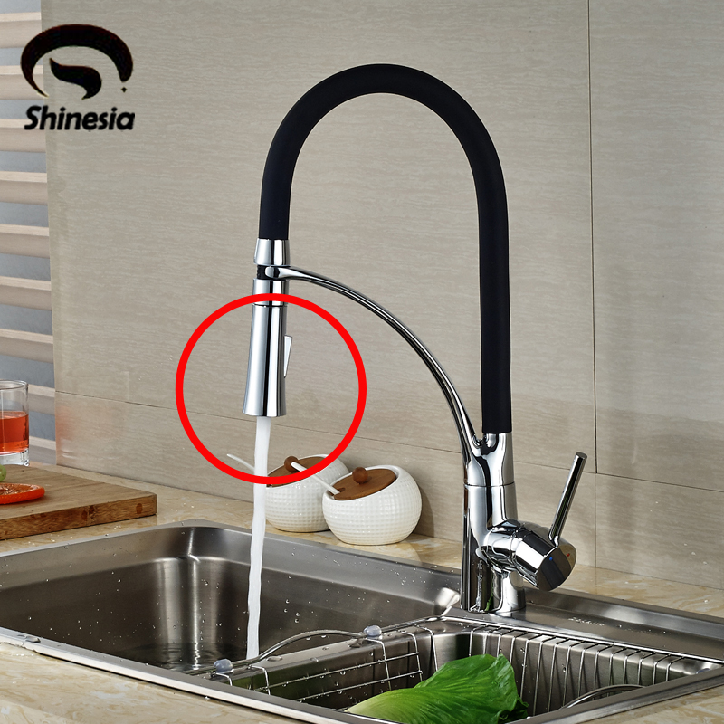 Chrome Polished 2 Fuctions Out Water Sprayer Head Kitchen Sink Faucet Accessories