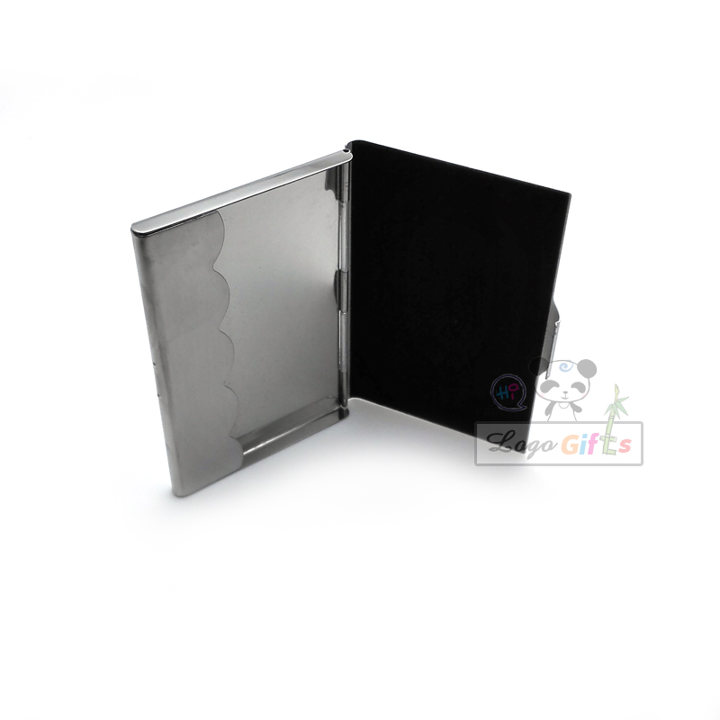 Hot selling card stock Stainless steel Business card holder passport ...