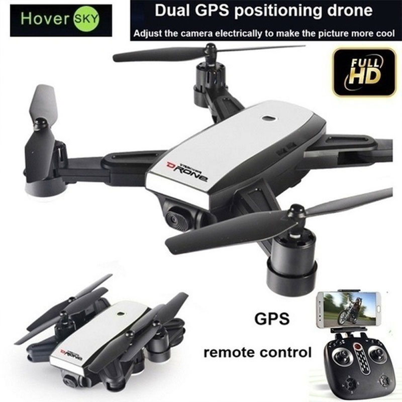 Intelligent Folding RC Drone GPS Position Wifi FPV 1080P Wide Angle Camera One Key Return 3D Flips Quadcopter with Storage BagIntelligent Folding RC Drone GPS Position Wifi FPV 1080P Wide Angle Camera One Key Return 3D Flips Quadcopter with Storage Bag