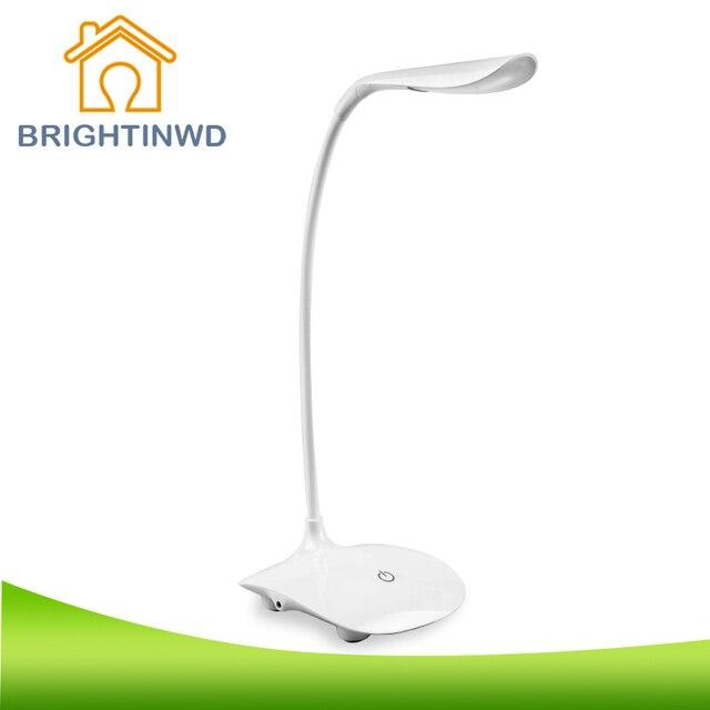 Strange New Touch LED Desk Lamp Children Eye Protection Foldable Rechargeable Reading-lamp Bending LED reading usb LED Lights