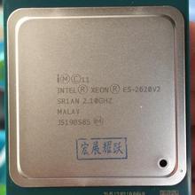ПК компьютер Intel Xeon E5 2620 V2 Процессор 2,1 LGA 2011 SR1AN 6-ядерный процессора сервера E5-2620 V2 E5-2620V2 Процессор