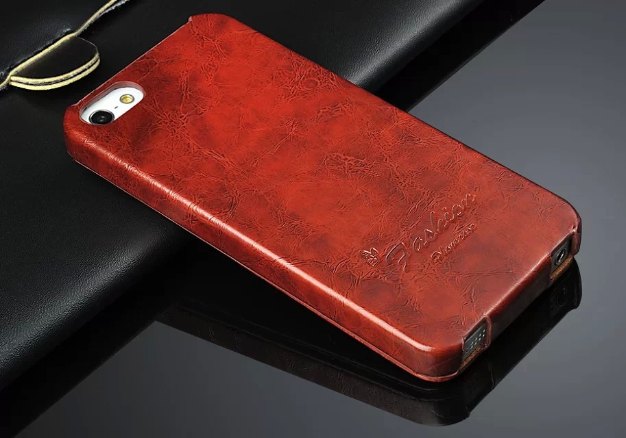 Oil-wax <font><b>Leather</b></font> Vertical Flip Cover <font><b>Case</b></font> for Apple <font><b>iPhone</b></font> 5 5S SE Fashion Brand Original Fundas Exquisite Coque for <font><b>iPhone</b></font> 6 <font><b>6S</b></font> image
