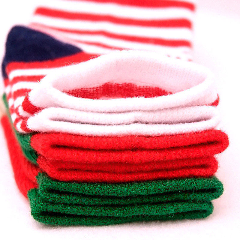 LAWADKA Christmas Gift Soft Cotton Newborn Baby Girl Socks Cute Cartoon Pattern Kids Socks Boys For Baby Girls Socks 0-5 years 6