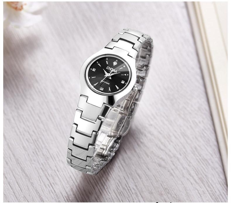 Hk dom luksusowe top marka męska zegarek wolframu stal wrist watch wodoodporna biznesu kwarcowy zegarek fashion casual sport watch 20