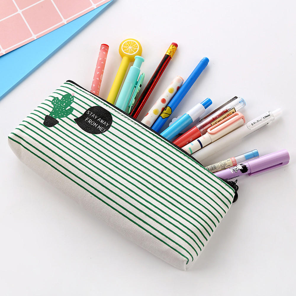 Office Stationery Cartoon Student Pencil Pen Travel Makeup Cosmetic Toiletry Case Wash Organizer Storage Pencil Case D329Office Stationery Cartoon Student Pencil Pen Travel Makeup Cosmetic Toiletry Case Wash Organizer Storage Pencil Case D329