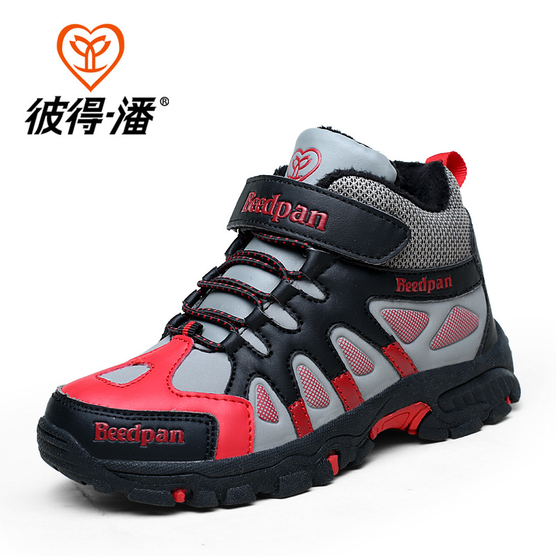 Boys Hiking Shoes Kids font b Sneakers b font Nonslip Kids font b Sneakers b font