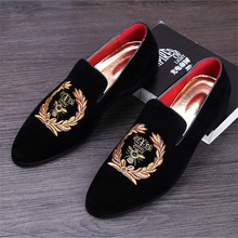 Genuine leather 2017 Men's New arrival Velvet shoes loafers leather men flats Exquisite black Tassel Smoking Slipper US size 9