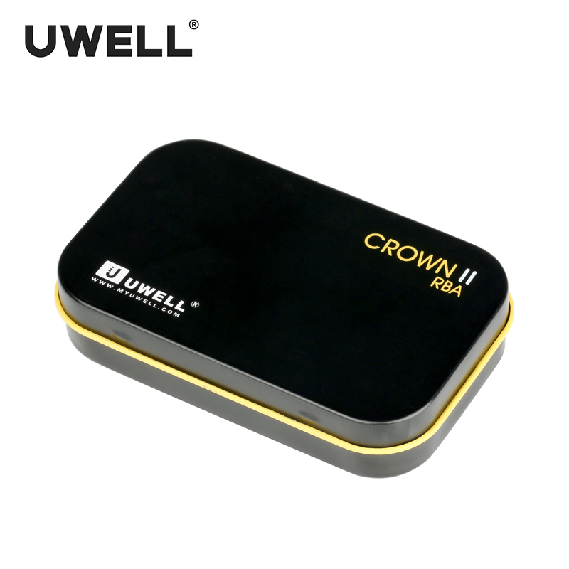 UWELL 1 PC CROWN II RBA Coil Cone Shaped Suit for CROWN II/CROWN II MINI /SE-1 Tank Electronic Cigarette Atomizer Accessories crown xli800 page 1