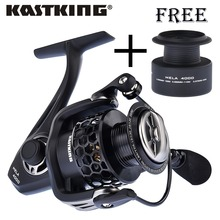 KastKing Mela series Lighter and Stronger Fishing Reel with Spare Spool 11 Ball Bearing Pesca Spinning Wheel