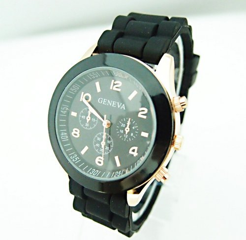 Hot Sales Genève Brand Silikone Kvinder Watch Ladies Fashion Dress - Dameure - Foto 3