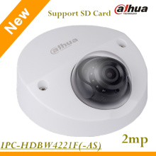 English Firmware Dahua 2MP IP Camera IPC-HDBW4221F 1080p Support Onvif and SD Card IR distance 20m WDR Vandal-proof Dome Camera