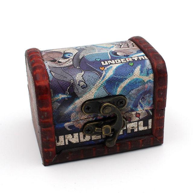 Кольцо и кулон из игры Undertale в подарочной шкатулке 1