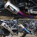 titanium material handmade conversion motorcycle exhaust system for YAMAHA R1 YZF R1 2009 2010 2011 2012 2013 2014