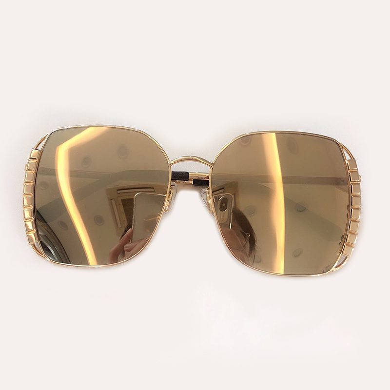 Sunglasses Sunglasses 5 Mit Qualität Fashion 3 4 1 2 Sunglasses No De Vintage Sonnenbrille Marke Feminino no no Shades Sunglasses Hohe Oval Sol Frauen Designer Oculos no Box no Sunglasses gfqqT