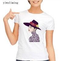 2017 Women Audrey Hepburn Printed T Shirt Novelty Vintage T Shirt Short Sleeve Lady Casual Tops