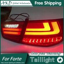 AKD автомобильный Стайлинг для Kia Forte задний светильник s 2009- Cerato светодиодный задний светильник Forte задний фонарь DRL+ тормоз+ Парк+ сигнал