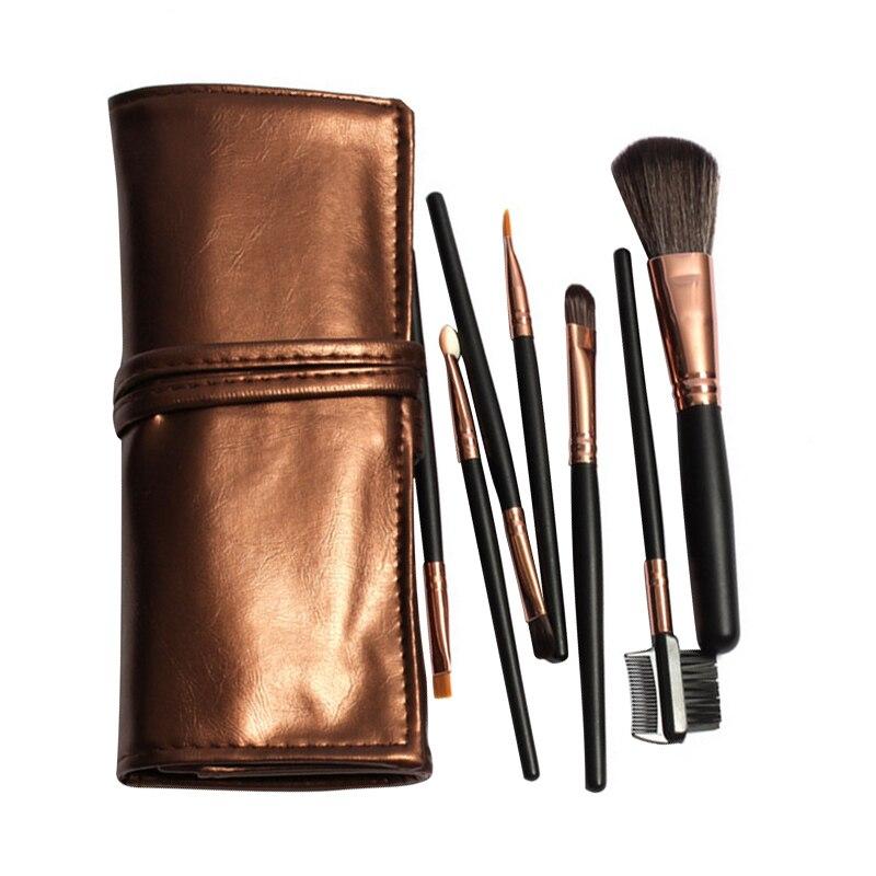 2016 Professional 7pcs Makeup Brush Set Tools Make up Toiletry Kits Cosmetic Makeup Brushes For Face