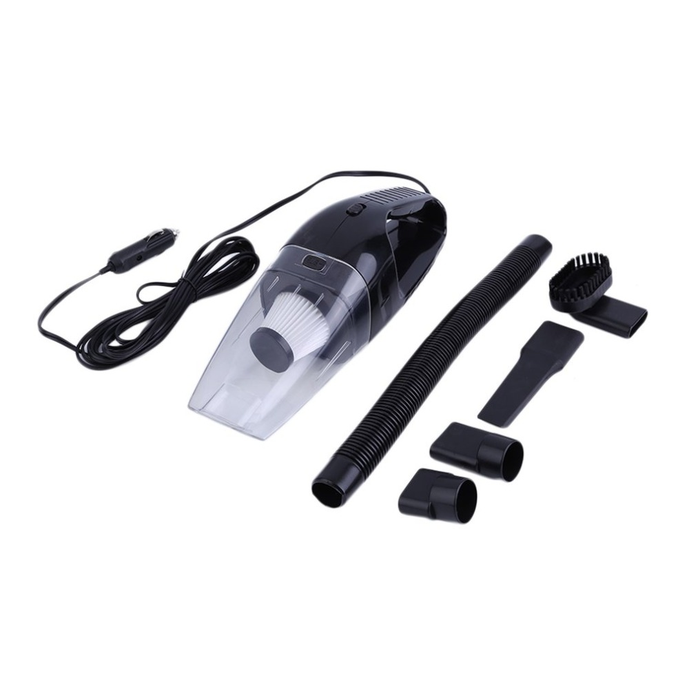 12V 120W Car Portable Vacuum Cleaner Dirt Dust Cleaner Collector Auto Car Mini Handheld Cleaning Appliances Low Noise